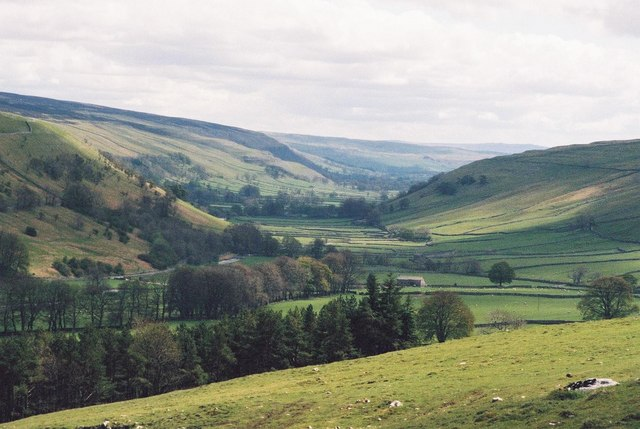 Littondale: spectacular view