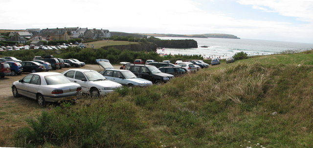 Trevone Bay car park