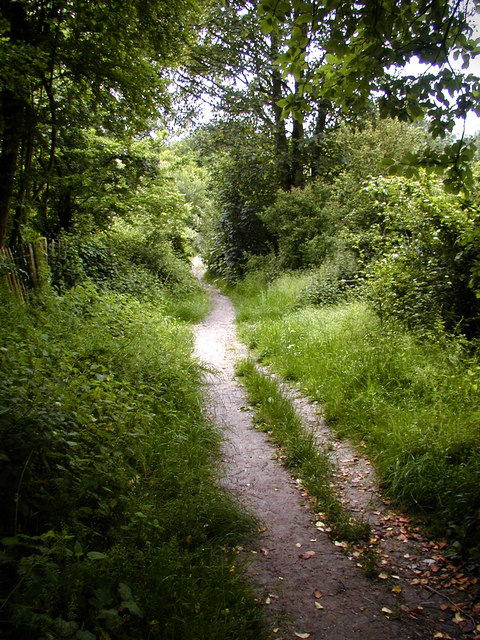 Footpath to Coldrum Long Barrow