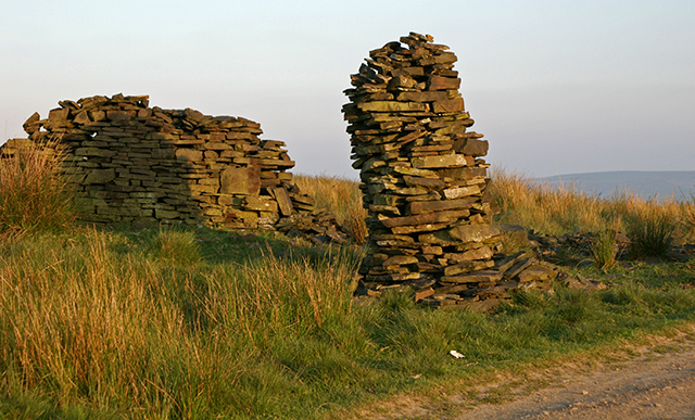 Pillar of stone