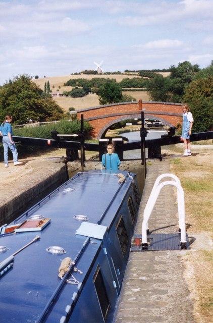 Gilkes Bridge Oxford canal Napton