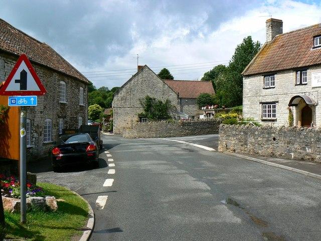 Woollard village centre