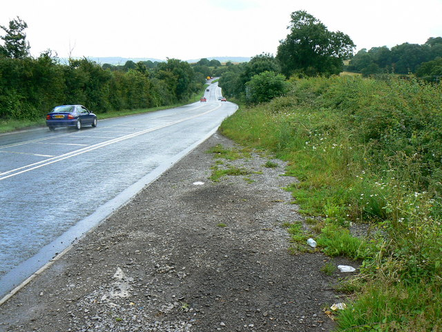 A37 south towards Belluton