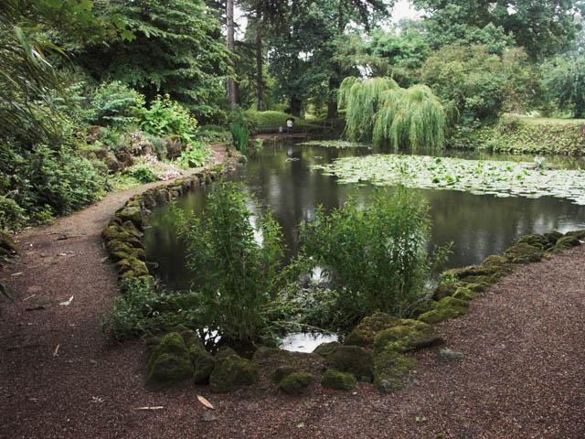 Ornamental pool in Whatton Gardens