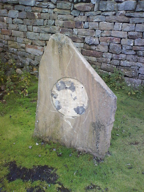 Vandalism to the Millennium Stone at Crackpot Hall