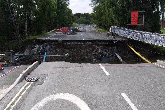 Ludlow Burway Bridge collapse