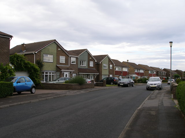 Crooksbarn Housing estate