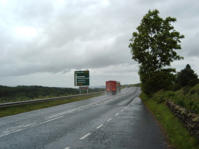 A76 on a rainy day