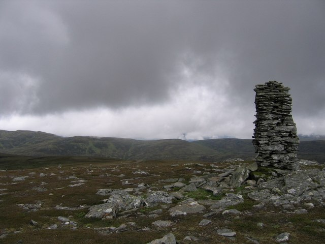 Large cairn on Monadhliath