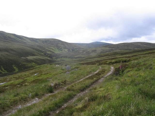 Hill road on the Allt Mor