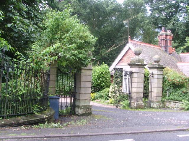 Gate House for Leighton Hall
