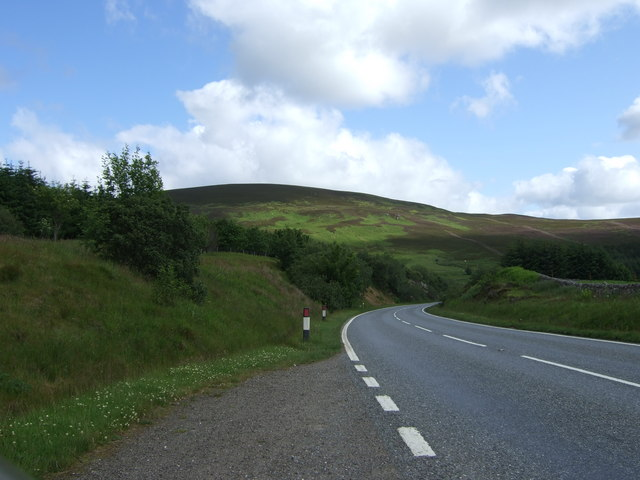 A9 above Ousdale Burn