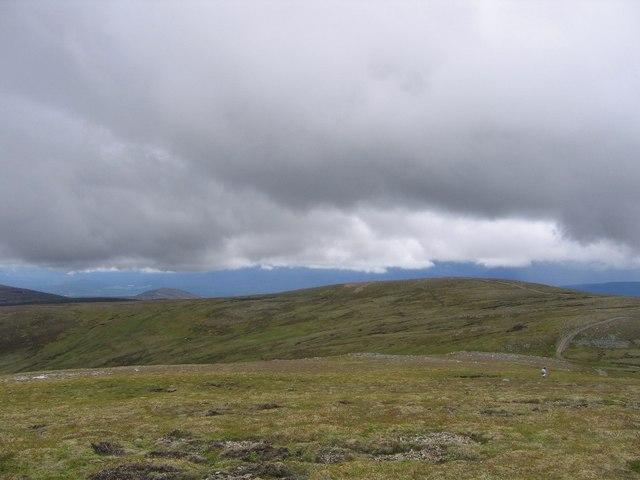 On the high Monadhlaith Mountains