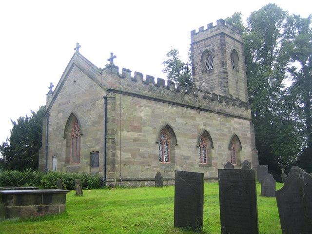 Calke Abbey: The Church of St Giles