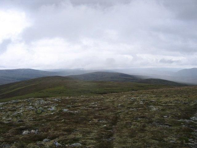 North ridge of Beinn Bhreac