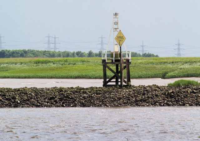 Navigation light off Faxfleet Ness