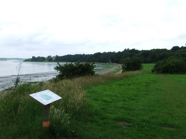 River Orwell At Nacton