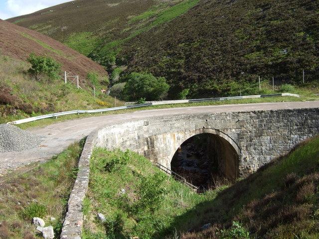 Old bridge over Ord Burn