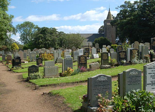 Crail grave yard