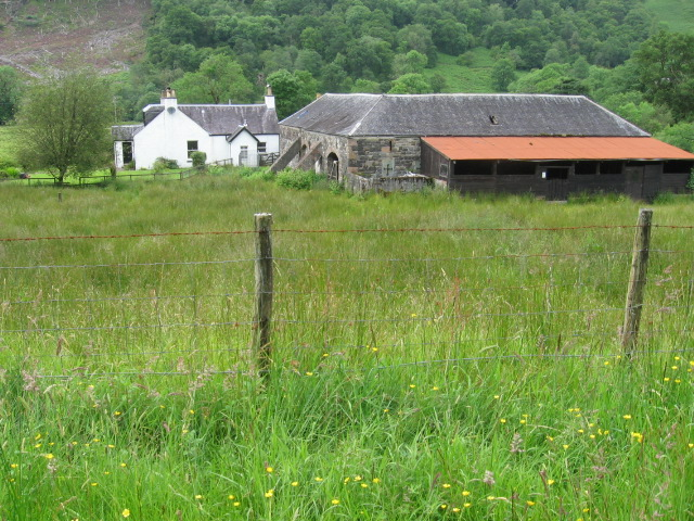 House and farm buildings at Kilblaan