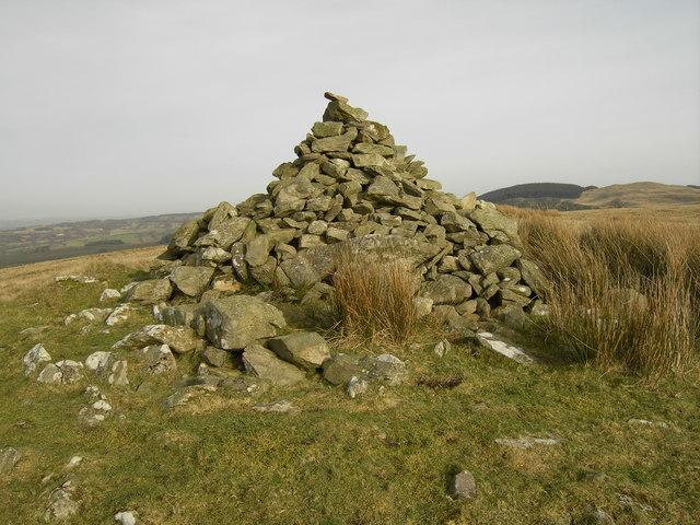 Bedd y Milwr (The Soldier's Grave), Esgair Fraith