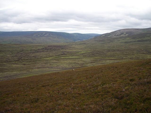 Towards Glen Bruar