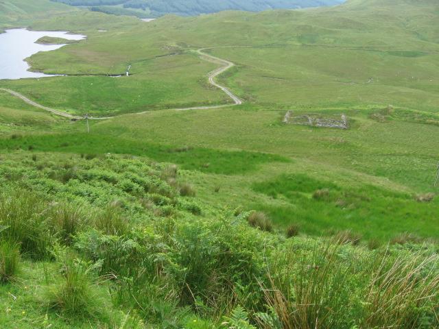 Towards Lochan Sron Mor