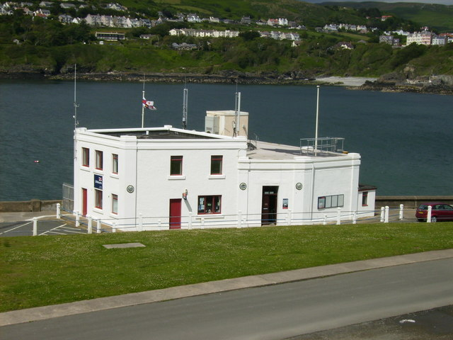 The Lifeboat station at Port Erin