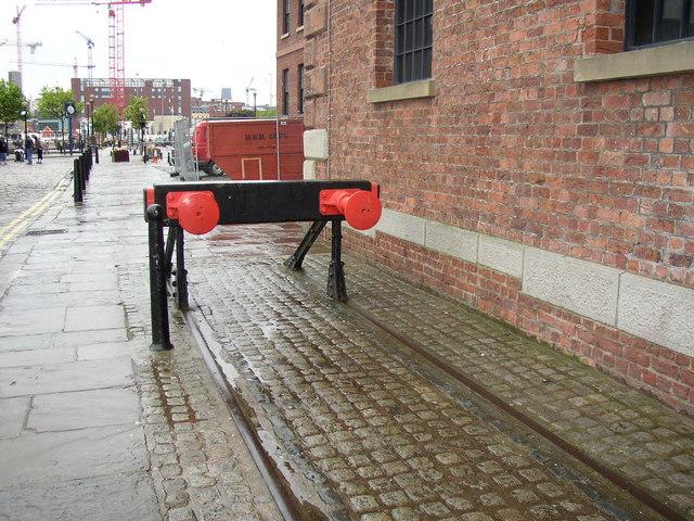 Buffers, Albert Dock, Liverpool