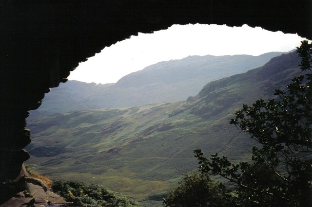 Looking through Wrynose Bridge