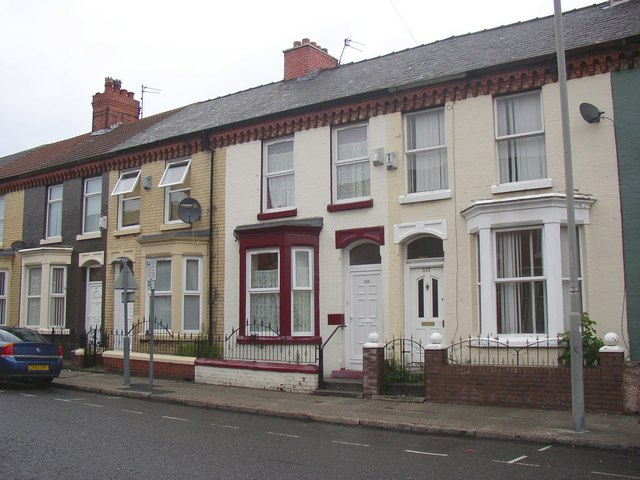Terrace houses, Anfield, Liverpool