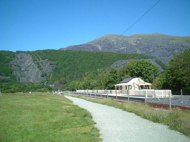 Llyn Padarn Station, Llanberis