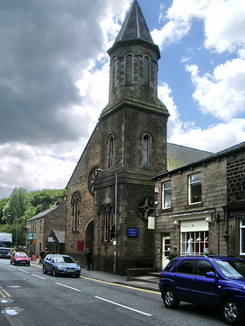 Catholic Church of Sacred Heart and St William, Uppermill