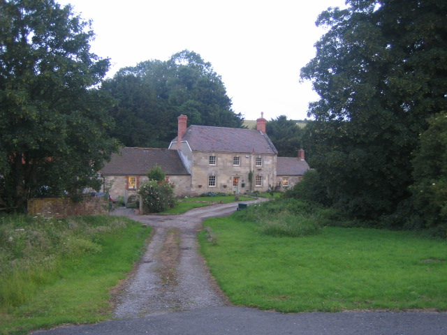 Chicklade Bottom Farm near Fonthill Bishop