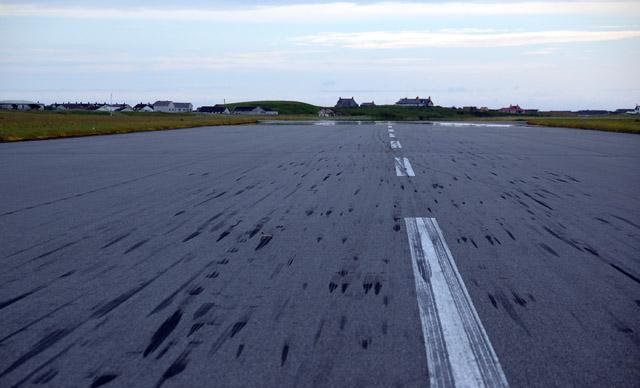Benbecula Airport runway