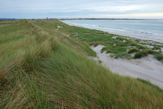 Dunes by Benbecula Airport