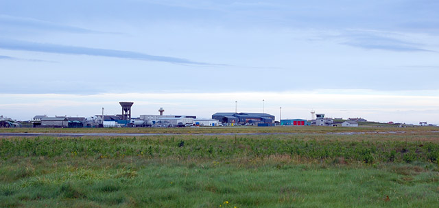 Benbecula Airport buildings
