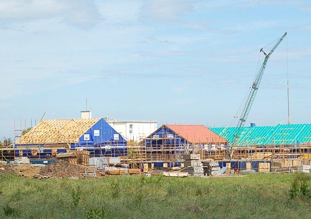 Crail, new housing