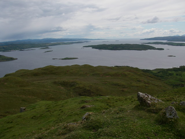 View over Shuna to the Sound of Jura