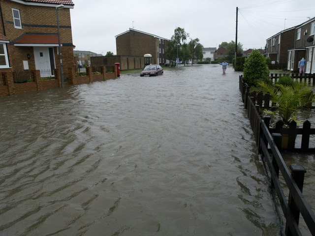 Inmans Road Flood
