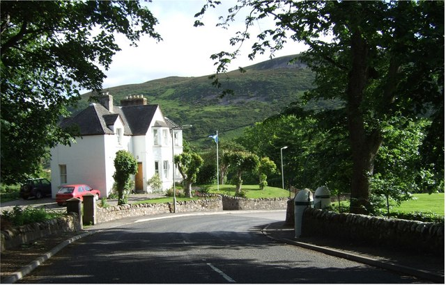 A town house near Helmsdale Station