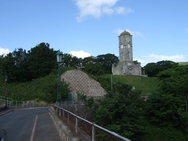 Ice House and War Memorial clock tower