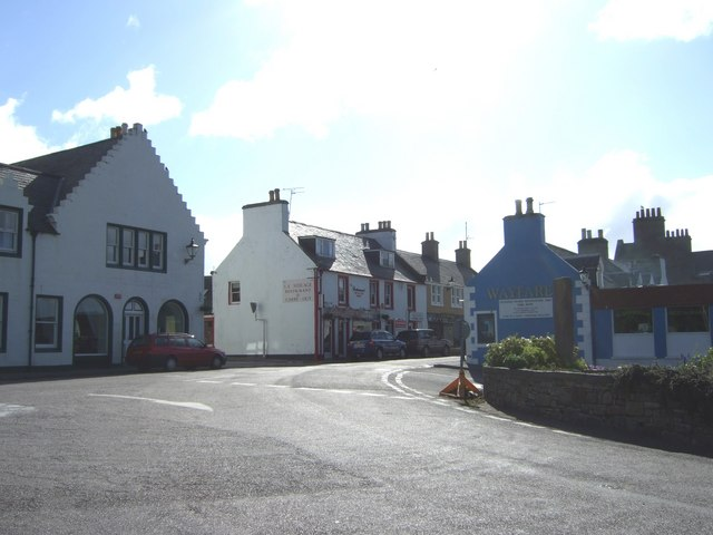 NW end of Dunrobin Street, Helmsdale