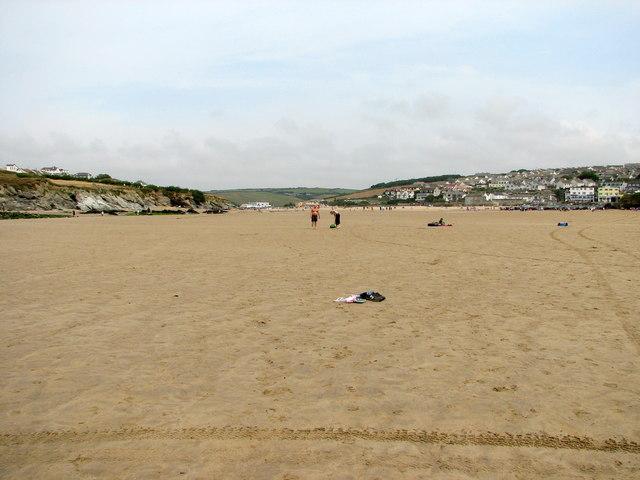 Porth beach