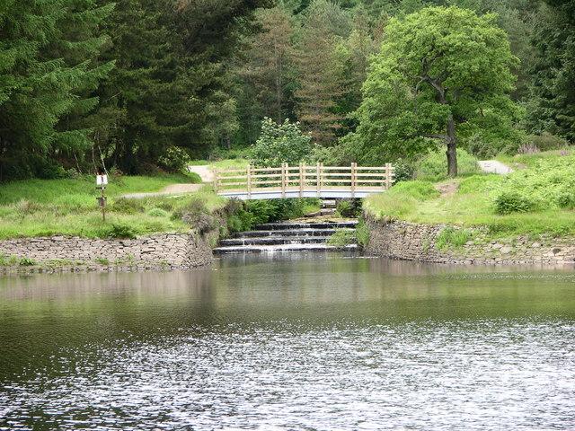 Bridge over inflow to Turton and Entwistle Reservoir