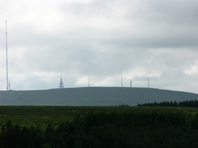 Winter Hill from the East