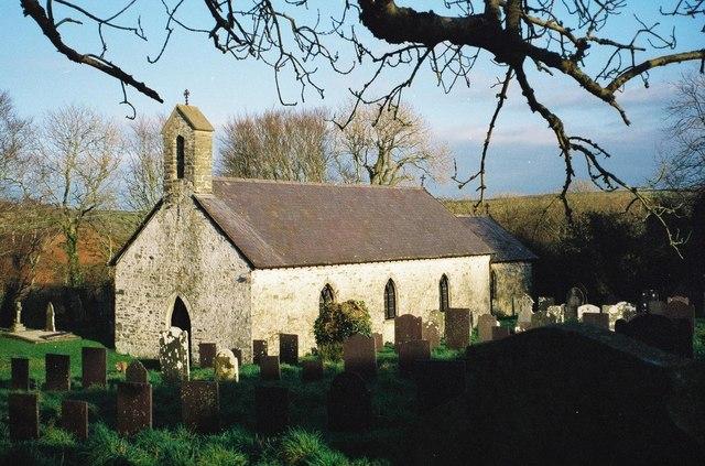 Llantysiliogogo: parish church of St. Tysilio