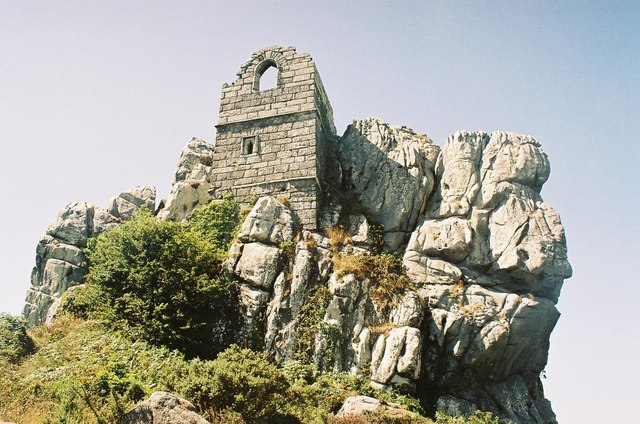 Roche Rock and chapel