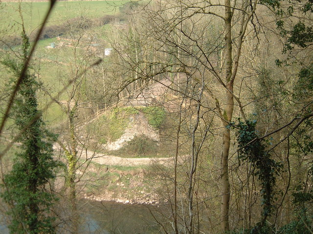 Tintern Dismantled Railway Bridge Northern Abutment