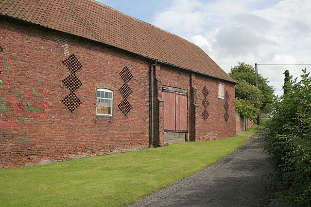 Brick barn, South Wheatley